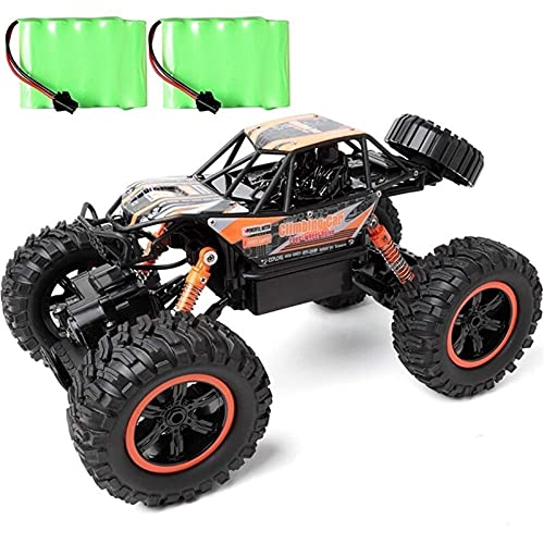ZCYXQR Coches de Control Remoto Hobbyist Grade 4x4 Bigfoot para Adultos, 1:14 RTR Monster Truck Four Wheels Drive Bigfoot Off-Road, 4WD Radio