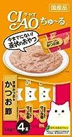 (まとめ買い)いなばペットフード CIAO ちゅ~る 宗田かつお&かつお節 14g×4本 4SC-75 猫用 【×24】
