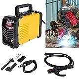 Mini Welder Gas Less Flux Core Wire Automatic Feed Welding Machine Battery Spot Welder Easy Weld Ideal for Beginners Professional Welders Gifts (B)