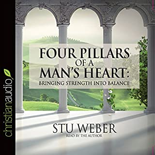 Four Pillars of a Man's Heart audiobook cover art