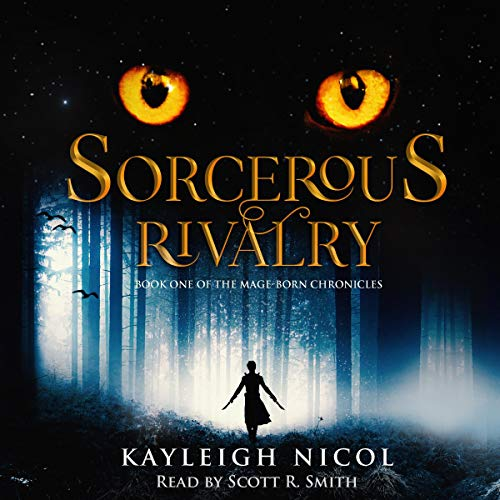 Sorcerous Rivalry  audiobook cover art