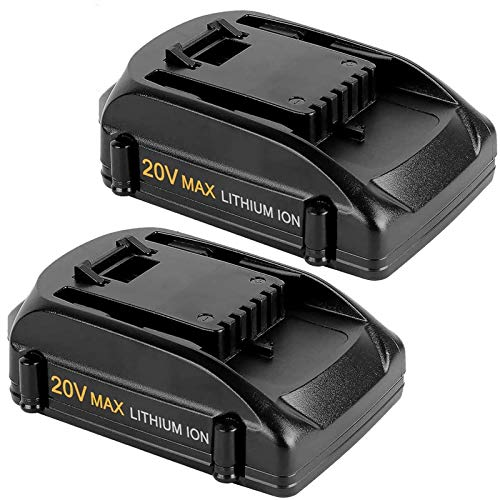 2Packs 4.0Ah Replacement Battery Compatible with Worx 20 Volt Lithium Battery WA3520 WA3525 WG151s, WG155s, WG251s, WG255s, WG540s, WG545s, WG890, WG891