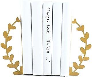 "Decorative bookends ""Golden Wreath"""