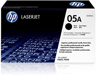 Best HP 05A | CE505A | Toner Cartridge | Works with HP LaserJet P2035 series, P2055 series | Black Reviews