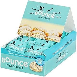 Bounce Energy Balls Coconut & Macadamia Multipack - 12 x 40g (1.06lbs)