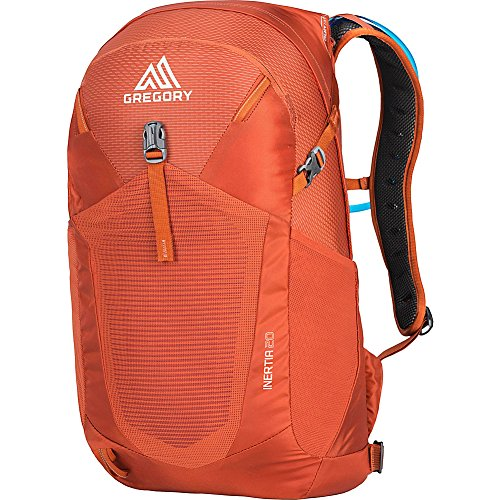 Gregory Mountain Products Men's Inertia 20 H2O Day Hiking Backpack, Ferrous Orange, One Size