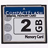 QingManGuo New 2GB Compact Flash (CF) Card Speed Up to 50MB/s Free Packaging-CF-2G Digital Camera Memory Card