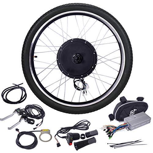 """JAXPETY 48V 1000W Electric Bicycle Cycle E Bike 26"""" Rear"""