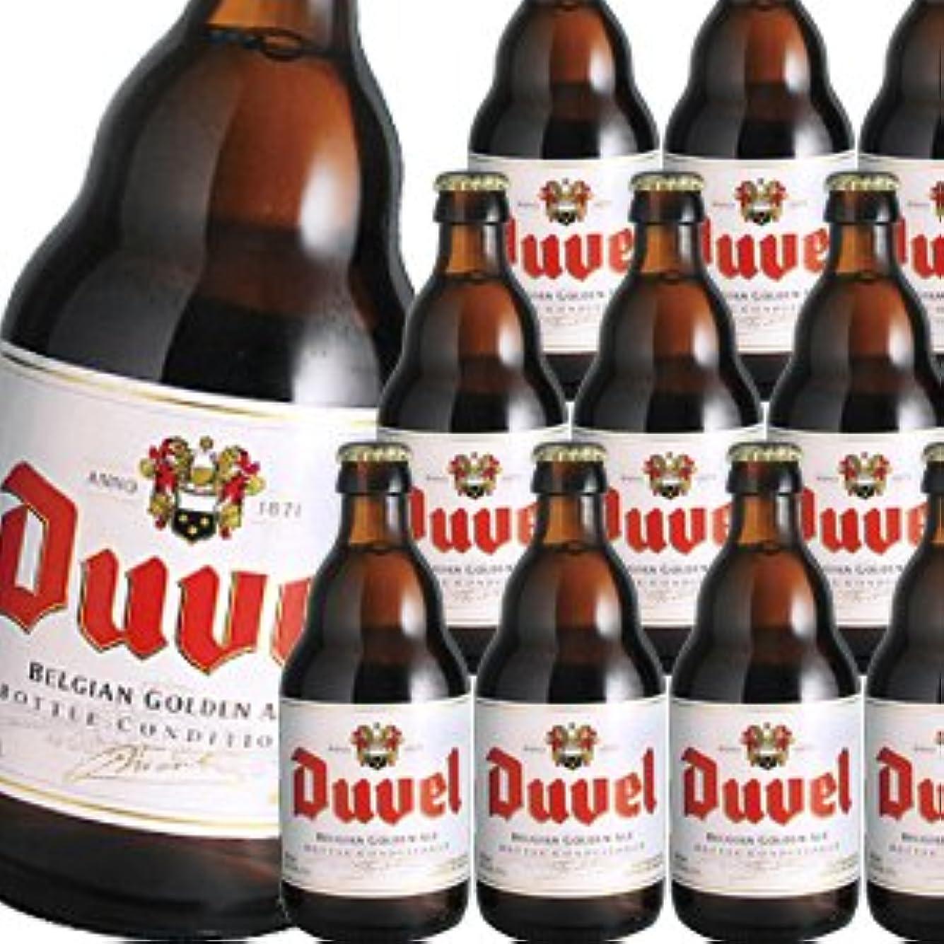 バター実現可能性保有者[ベルギービール]デュベル 330ml瓶×24本