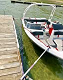 Vital All-Terrain Crisscross Poles for Boat Mooring/Docking Replaces Dock Pier Bumpers or Whips