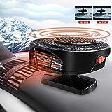 MASO - Sbrinatore portatile per auto, 12 V 150 W, ad alta potenza, riscaldamento rapido, p...