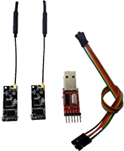 Eletechsup 2X UART RF Wireless Transceiver Module + USB to TTL RS232 Telemetry Kit 2.4G for Ardiuno 3DR Radio APM APM2 Vehicle UNO Due MEGA