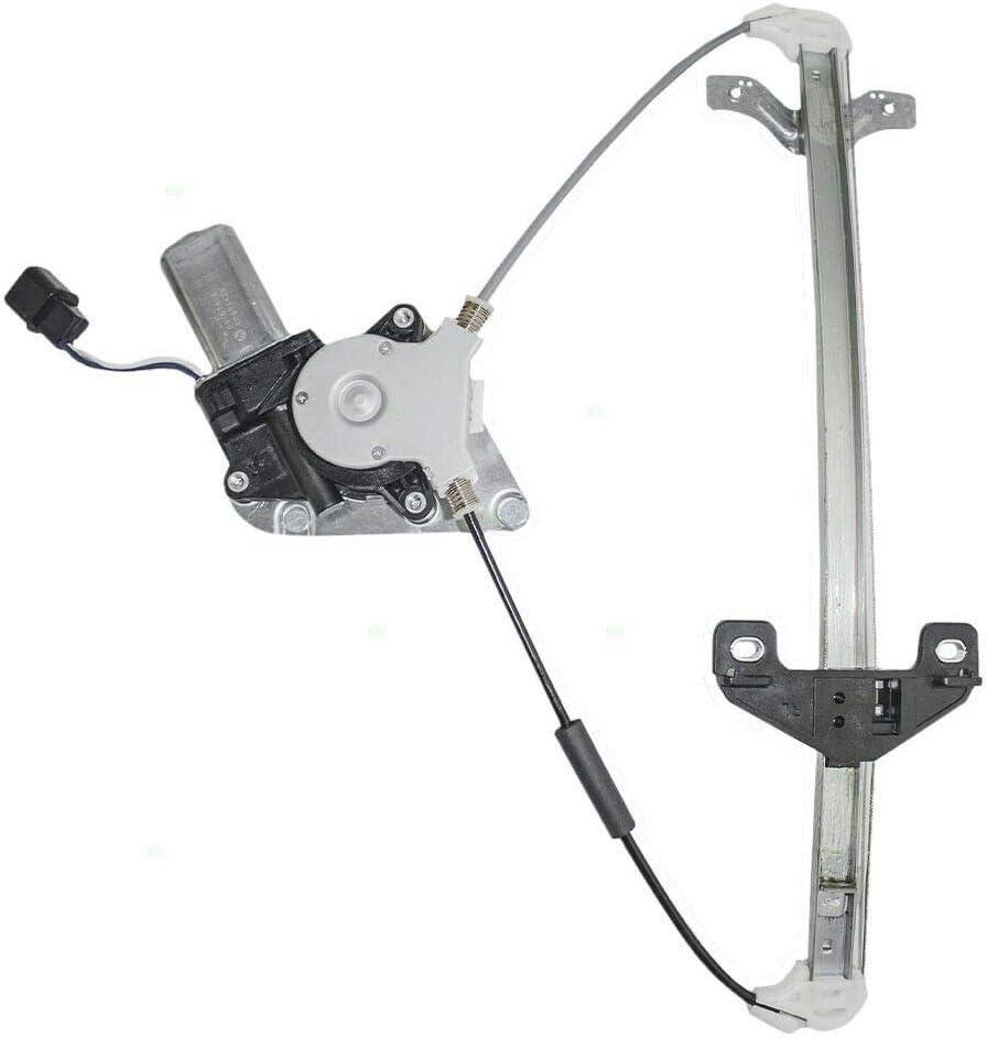 SCKJ Compatible Max 45% OFF withDrivers Rear Power Regulator New life Motor w Window