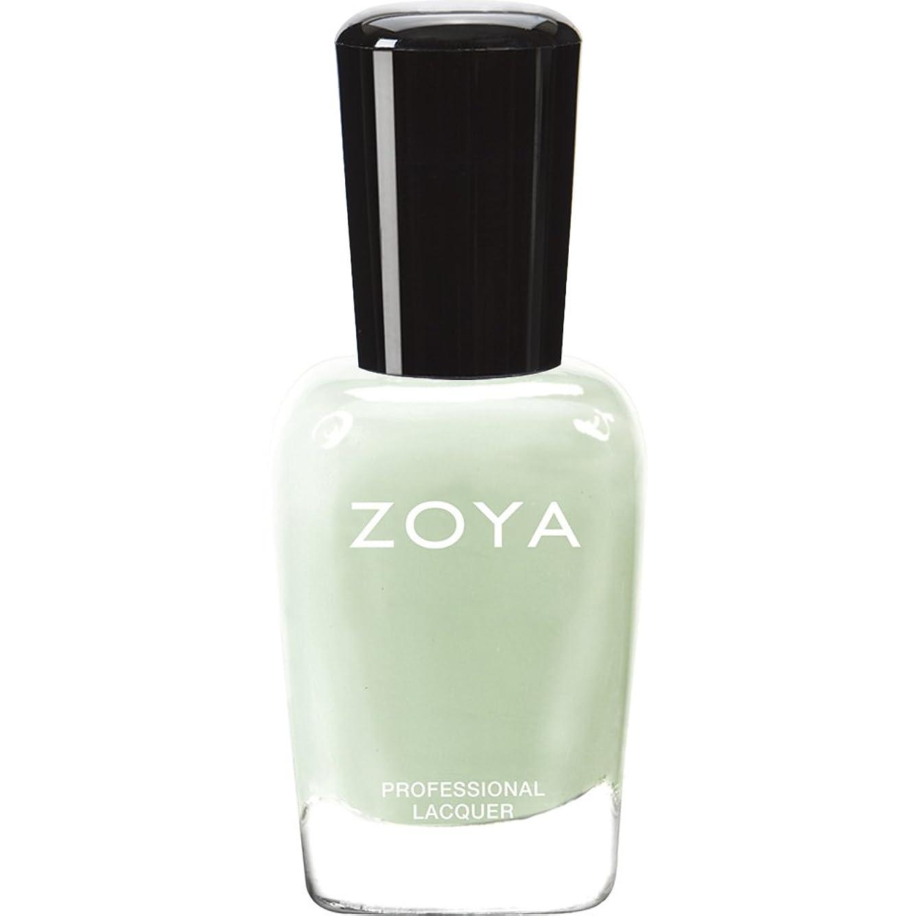 増加する損失お手伝いさんZOYA ゾーヤ ネイルカラー ZP655 NEELY ニーリィ 15ml  2012 LOVELY COLLECTION 淡いパステルグリーン マット 爪にやさしいネイルラッカーマニキュア
