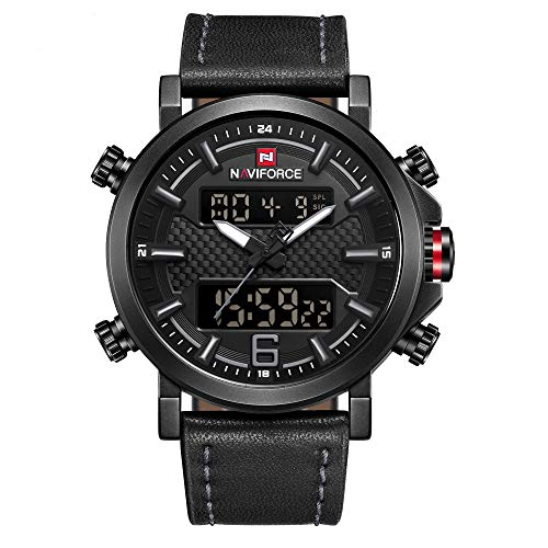 NAVIFORCE Analog Digital Watches Waterproof...