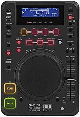 IMG Stage Line CD-82USB Desktop DJ CD and MP3 Player