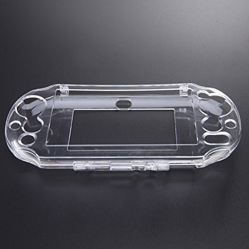 Clear Hard Case Transparent Protective Cover Shell Skin for PSV 2000 Psvita PS Vita PSV 2000 Crystal Console Body Protector