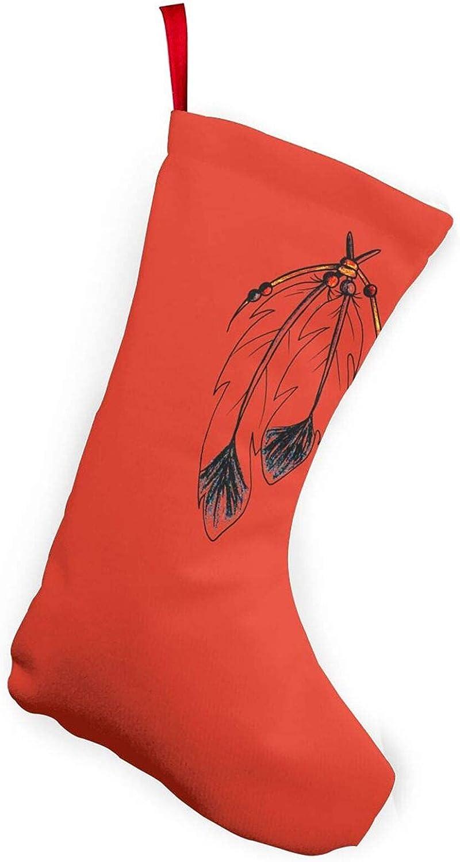 Pastor australiano perro 25,4 cm Navidad Medias para decoración del hogar regalos nativo americano tatuaje