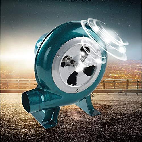 Dingygj Elektrische ventilator, 220 V, instelbaar met stekkers, trampoline, spring, barbecue, combustion blazer
