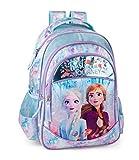 Disney´s Die Eiskönigin 2 Rucksack 44x28x16 cm Mädchen Schultasche Kinderrucksack Schule Kinder Glitzer Anna ELSA Frozen