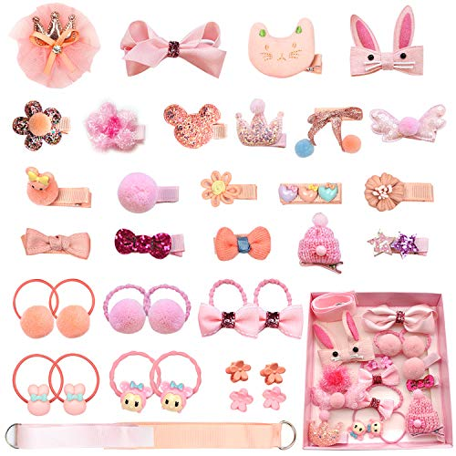 36 PCS Baby Hair Clips Set for L...
