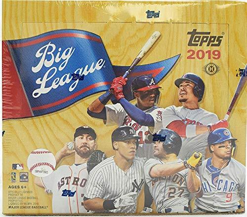 2019 Big League Baseball Hobby Box (24 Packs/10 Cards)