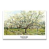 Colección de Van Gogh, carteles impresos e impresiones, cuadros de pared, artistas clásicos, pinturas en lienzo sin marco de artistas F 30x45cm