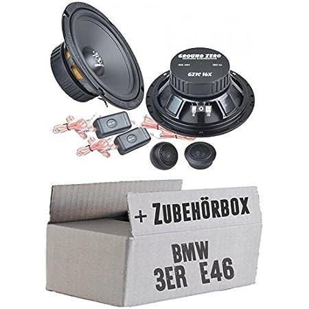Ground Zero Gzic 16x 16cm Lautsprecher System Einbauset Für Bmw 3er E46 Just Sound Best Choice For Caraudio Navigation