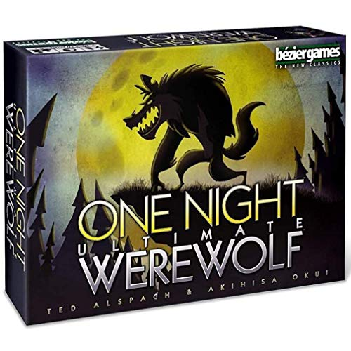 RLFDC One Night Ultimative Werwolf - Karte Brettspiele - Party-Spiel - 3 Bis 10 Spieler - Deutsche Version - Deck Game (Themed), Kinder und Erwachsene