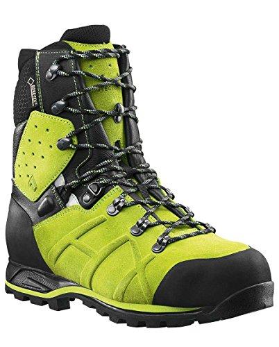 Haix Protector Ultra Schnittschutzstiefel Klasse 2 603108, Farbe:grün/schwarz, Schuhgröße:45 (UK 10.5)
