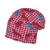 Sterntaler Mädchen Slouch-Beanie Mütze, Rot (Koralle 835), 49