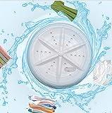 HUALONG Portable Washers | Mini Washing Machine Turbine Clothes | Travel Ultrasonic Turbine USB Powered Washer | Ultrasonic Tub Washer for Personal Laundry | Wash Vegetables Dirty Dishes