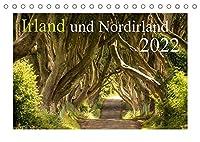 Irland und Nordirland 2022 (Tischkalender 2022 DIN A5 quer): Landschaftliche Hoehepunkte der wunderschoenen *gruenen Insel* begleiten Sie Monat fuer Monat durch das Jahr... (Monatskalender, 14 Seiten )