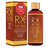 RX 4 Hair Loss Conditioner for Thinning Hair, DHT Blocker, Naturally Organic with Biotin, Aids in Hair Regrowth, Doctor Recommended Growth Shampoo Treatment System.