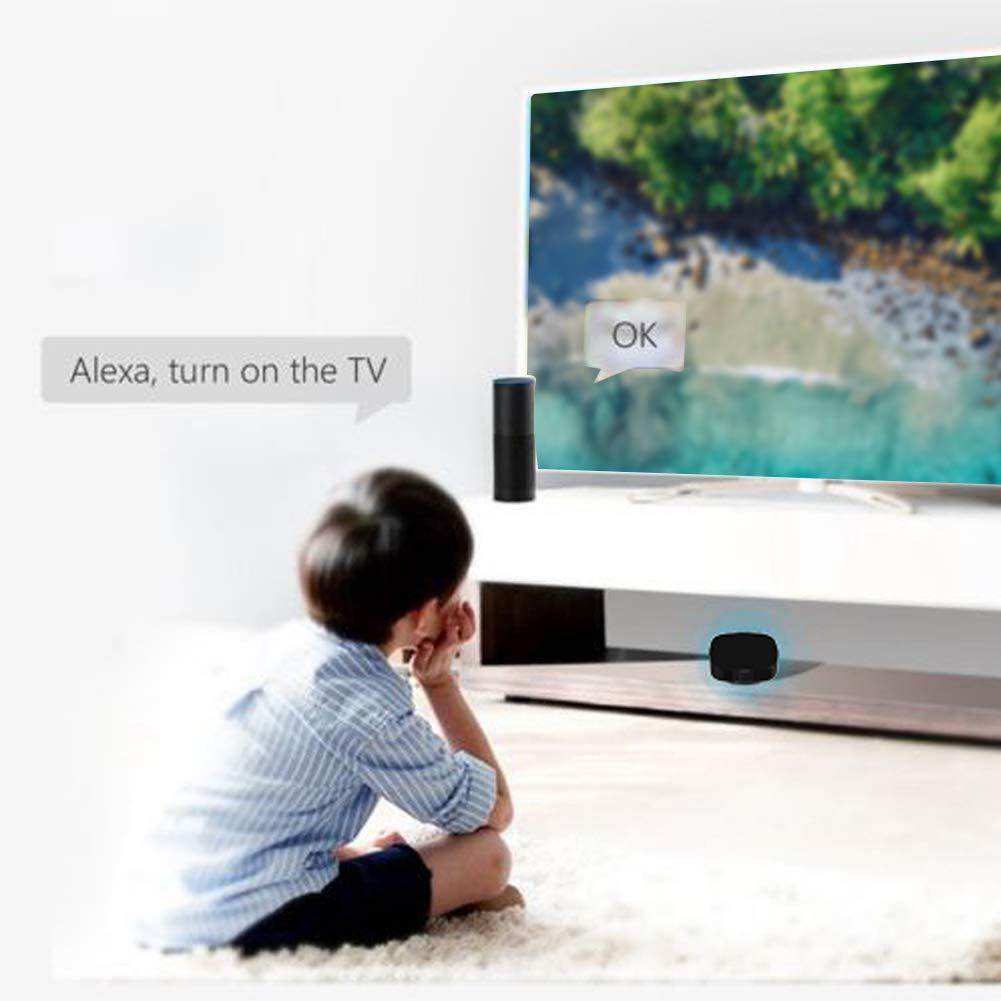 Sensor de control remoto inteligente por infrarrojos, inalámbrico, WiFi, teléfono móvil, aplicación para dispositivos domésticos, TV, aire acondicionado, compatible con Android iOS: Amazon.es: Bricolaje y herramientas
