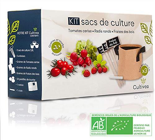 Cultivea – Kit de sacs de...