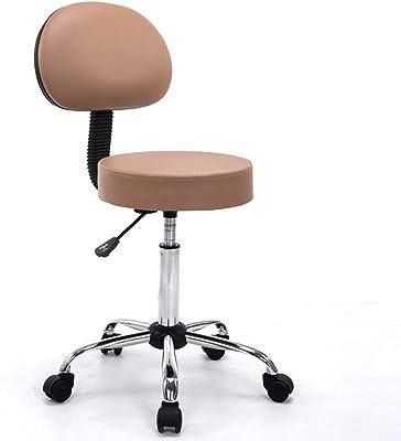 SHPP, Sgabello da bar con ruota universale, similpelle, rotazione a 360 °, regolabile in altezza, diversi colori e bar sedia da bar sedia sala da pranzo.