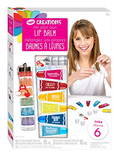 Crayola 26221 - Set Creations Brillo de Labios Arcoíris