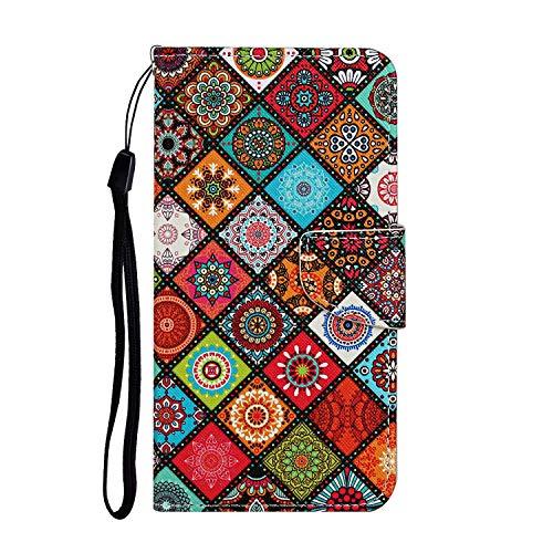Hülle für Huawei P40 Handyhülle Schutzhülle Leder PU Wallet Bumper Lederhülle Ledertasche Klapphülle Klappbar Magnetisch für Huawei P40 - ZIXC0010910#16