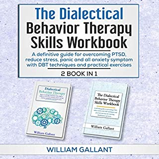 Dialectical Behavior Therapy Skills Workbook, 2 Books in 1 cover art