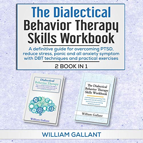 Dialectical Behavior Therapy Skills Workbook, 2 Books in 1  By  cover art