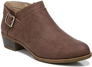LifeStride Women's Alexi Ankle Boot, Dark Tan, 7.5