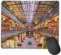 マウスパッド ゲーミングマウスパット 図書館 高級感 最適 高級感 おしゃれ 防水 耐久性が良い 滑り止めゴム底 ゲーミングなど適用 マウスの精密度を上がる 疲労軽減 作業 マウスパット ( 25*30 Cm )