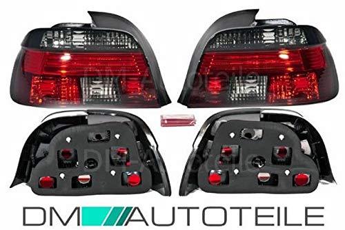 DM Autoteile Rückleuchten Heckleuchten SET Celis Rot Smoke passt für E39 Limousine 95-00