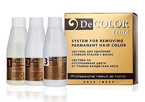 Hair Colour Remover - Removes Colour Build-up without Damaging Hair by DeColor Time