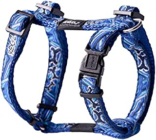 Rogz Fancy H Dog Harness, Navy Zen Medium