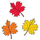 Creative Teaching Press Fall Leaves 6' Cut-Outs...