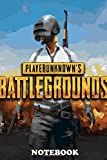 Notebook: Pubg Poster 5 , Journal for Writing, College Ruled Size 6' x 9', 110 Pages