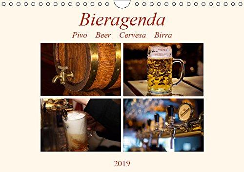 Bieragenda - Pivo Beer Cervesa Birra (Wandkalender 2019 DIN A4 quer): Impressionen vom Bier, von der Herstellung bis zum Genuss... (Monatskalender, 14 Seiten ) (CALVENDO Lifestyle)