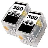 BC-360【顔料ブラック2本セット】CANON互換詰め替えインク 国内梱包検品済み 【Enk】製 対応機種:PIXUS TS5330